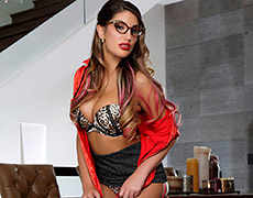 Pencil Me In For August.. featuring August Ames