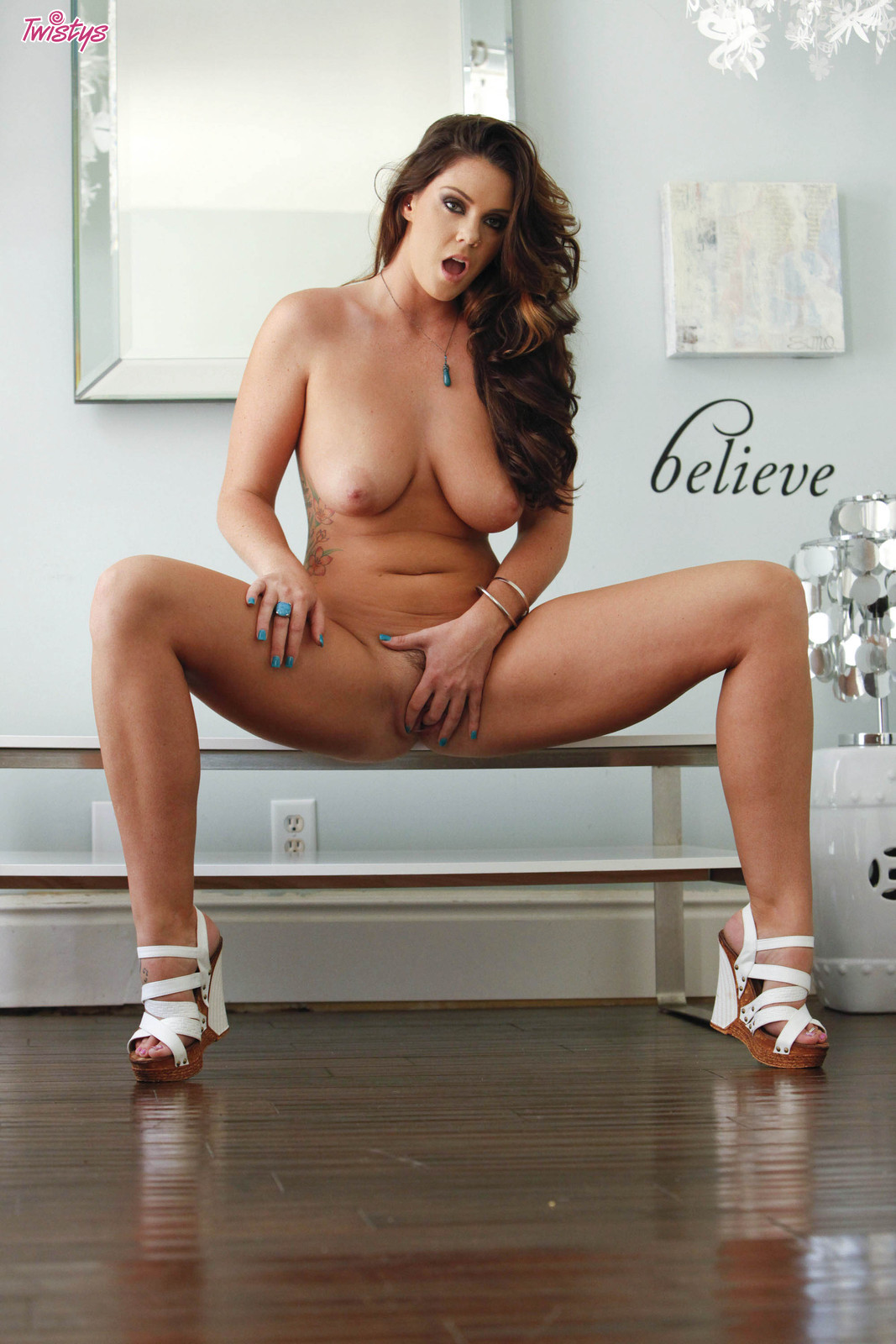 Alison tyler decides she needs some relief 6