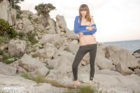 Sexy Climber – nude on the rocks