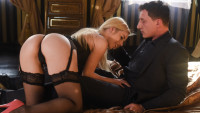 Daringsex presents Stocking Seduction starring Nesty, Jason Steele.