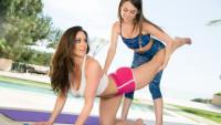 Girlsway presents Mommy Posing starring Kendra Lust, Riley Reid.
