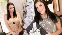 Girlsway presents My Christmas Wish: Part One starring RayVeness, Jenna Reid.
