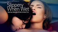 Aidra Fox, Natasha White in Slippery When Wet Erotic Video – Babes.com