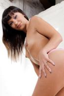 EvilAngel Alysa - Brunette masturbating hard with vegetables and smoking.
