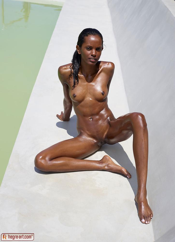 A skinny black girl naijanote pussy.