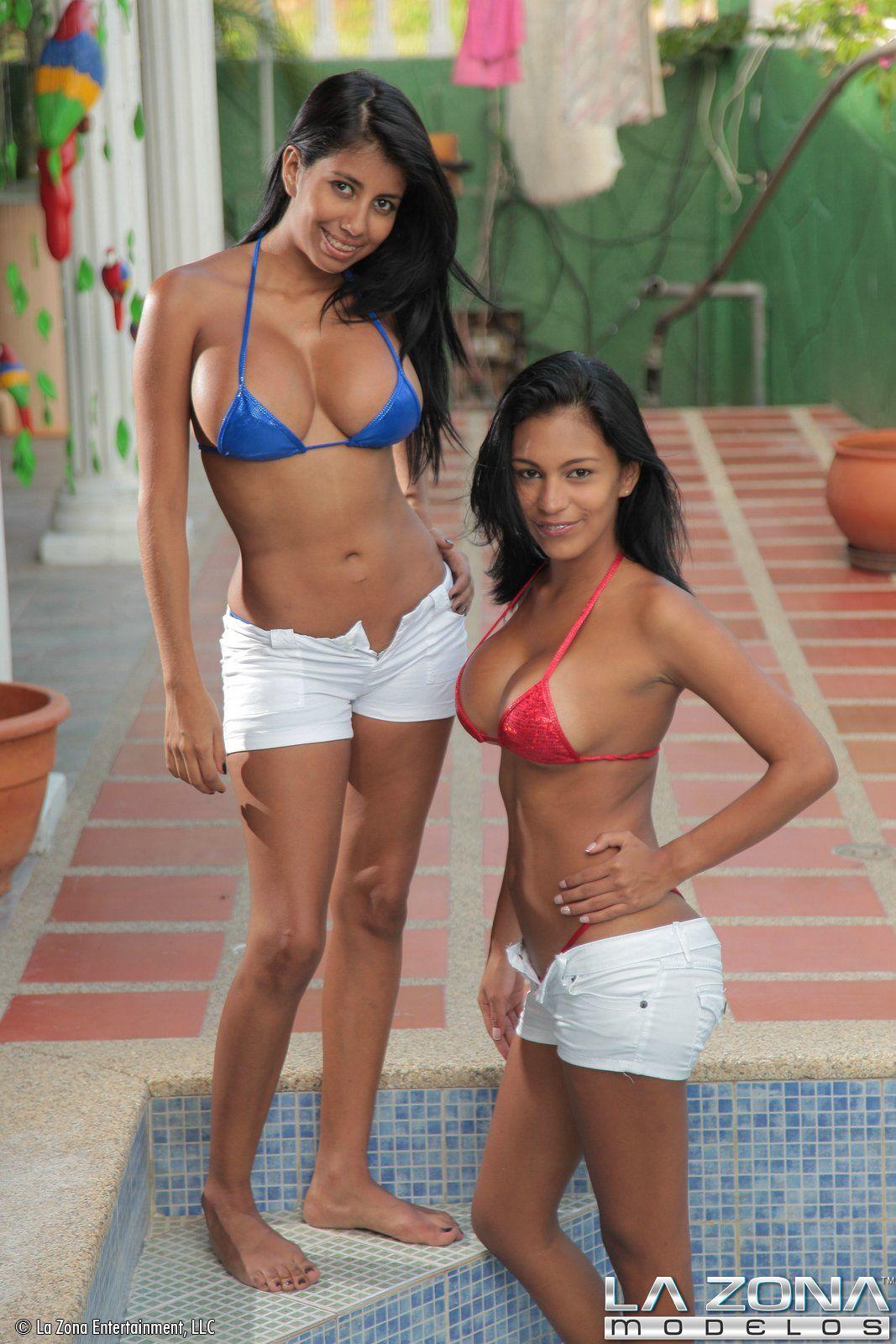 Latina Teens Show Off Their 56