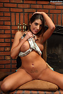August Ames Toys and Spreads Coochie with Candles