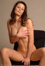 Venus - Brunette goddess Tina shows her big natural tits with perfect hard nipples. Watch her now.